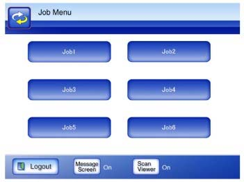 Job Menu Screen